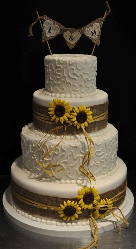 25 Cute Sunflower Wedding Cakes Ideas On Pinterest