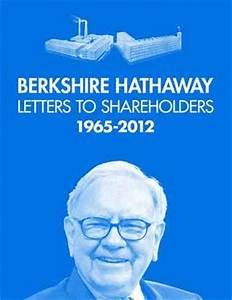 berkshire hathaway letters to shareholders by warren With letters of warren buffett book