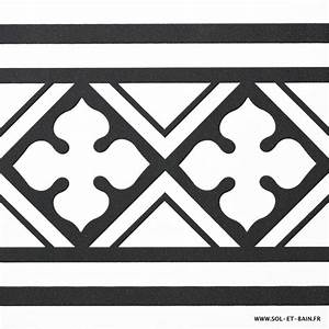 frise carrelage neocim carreaux ciment 20x20 classic noir b With frise carreaux de ciment