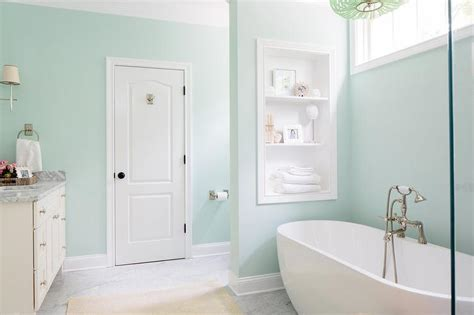 Spa Colors For Bathroom Paint by 20 Beautiful Bathrooms With Pastel Colors Housely