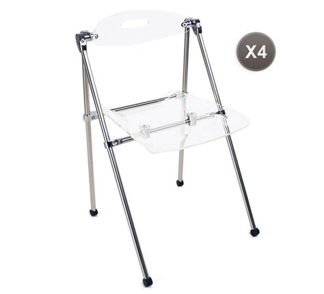 chaise pliante plexiglas design chaise pliante design plexiglas tous les objets de