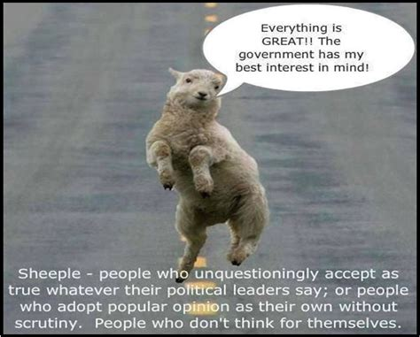Sheeple Meme The Culture Of Sheepleocracy In India