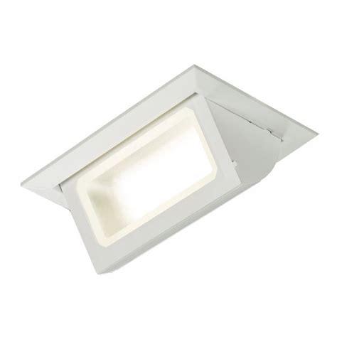 30 watt rectangular recessed led wall washer cool white