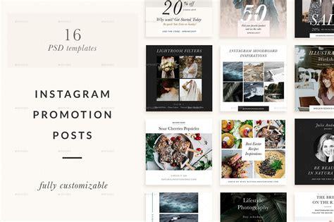 instagram promotion templates  sparrowandsnow graphicriver