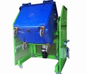 Poubelle 120 Litres : basculeur de conteneur poubelle mobile 120 1000 litres ~ Melissatoandfro.com Idées de Décoration