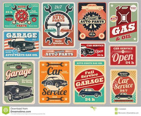 garage cartoons illustrations vector stock images