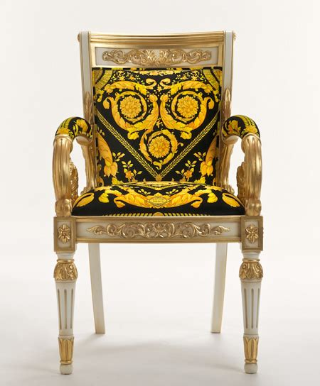 Versace Vanitas Armchair Available Online  Butterboom
