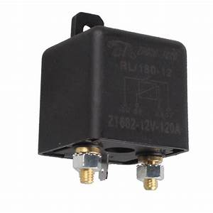 Ee Support Black 12v 120a Heavy Duty Split Charge On  Off