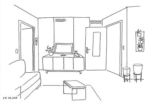 comment dessiner un canapé en perspective séjour doux et naturel à vincennes
