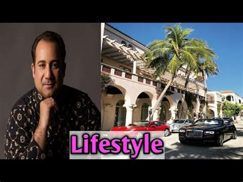 Rahat Fateh Ali khan Biography    Family    Age    Weight ...