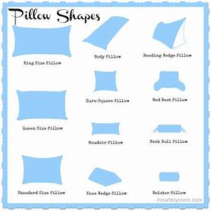 different pillow sizes explained different strokes for With different types of pillows