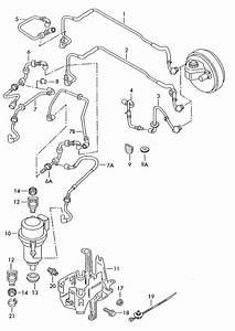 Volkswagen Touareg Vacuum Pipe
