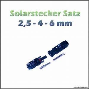Solar Inselanlage Berechnen : stecker mit buchse 1 polig f r 12v solarmodule hier g nstig kaufen ~ Themetempest.com Abrechnung