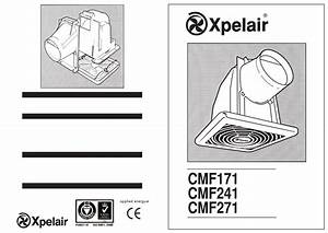 Xpelair Fan Cmf171 User Guide