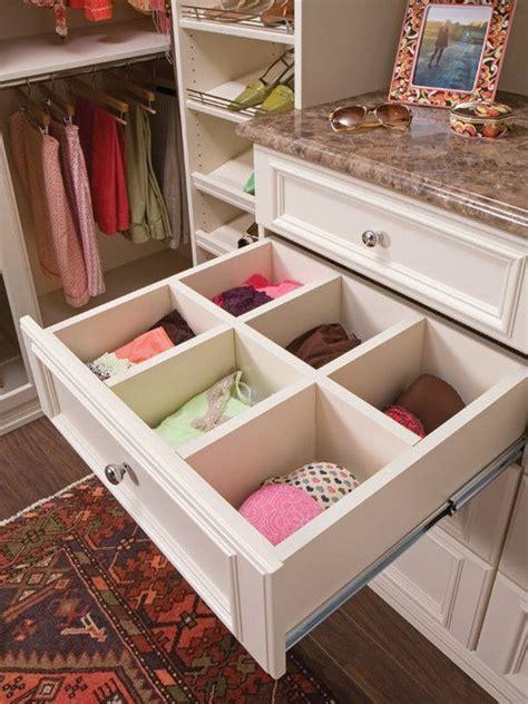 custom designed walk in closet in almondine melamine