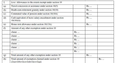 income tax section 16 form 16 new format for salary tds certificate makes it