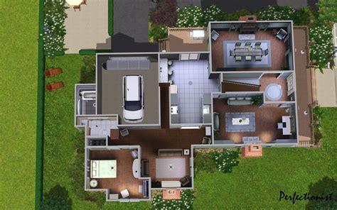 Mod The Sims   The Emerald House   No CC.