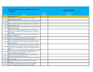 Issue Tracking Template Excel It Service Desk Software Rfp Template