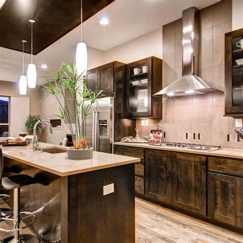 rustic modern kitchen design ascent your modern kitchen with rustic embellishment 5014