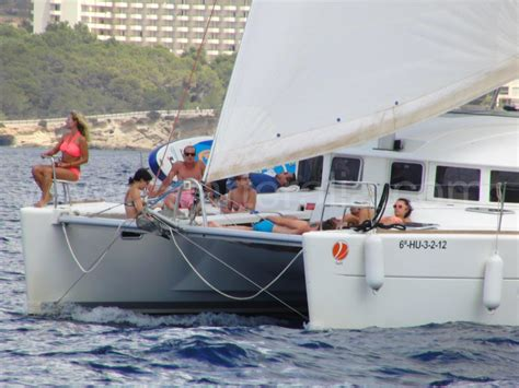 Sailing Boat Jib by Jib Sailing On Catamaran Yacht Charter Ibiza