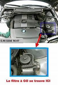 Filtre Deshuileur Bmw 320d E46 : bmw e46 320d m47 an 2001 ne d marre plus mais d marreur et batterie ok ~ Medecine-chirurgie-esthetiques.com Avis de Voitures