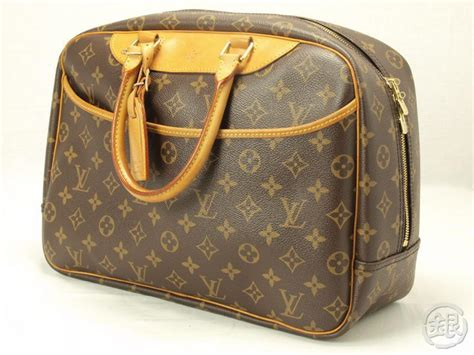 authentic louis vuitton monogram deauville purse handbag
