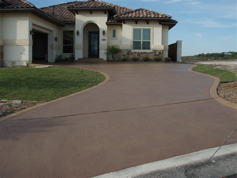 stained driveway ideas stained driveway back yard inspiration pinterest driveways stained concrete driveway and