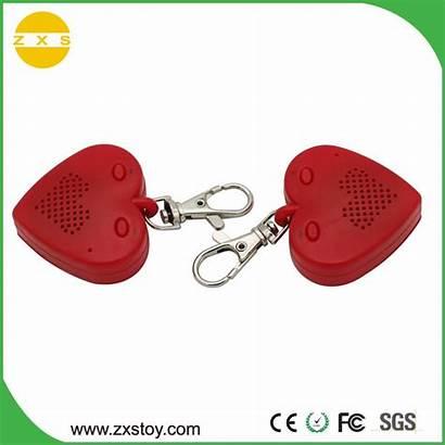 Voice Sound Keychain Shape Heart Recording Promotional