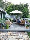 Outdoor Deck Decor - My Winter Garden Spruce Up   COCOCOZY outdoor patio deck