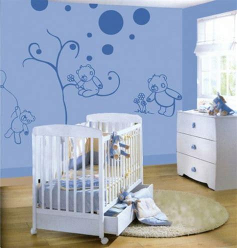 Babyzimmer Wände Gestalten Ideen