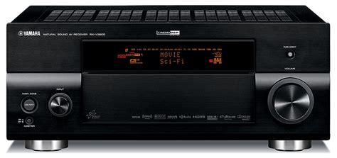 yamaha rx  receiver preview audioholics