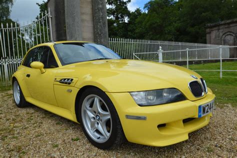 Bmw Dakar For Sale by 1999 Bmw Z3m Coupe Dakar Yellow For Sale Car And Classic