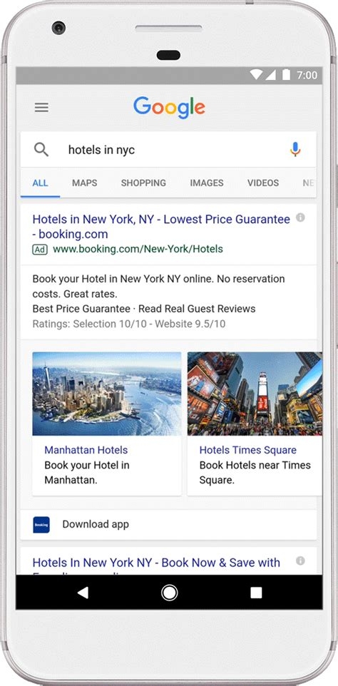 google upgrades flight and hotel search to provide price