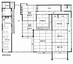 Japanese floor plans go back gt gallery for gt traditional for Traditional japanese house plans free