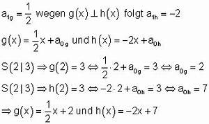 Senkrechte Gerade Berechnen : lage zweier geraden zueinander ~ Themetempest.com Abrechnung
