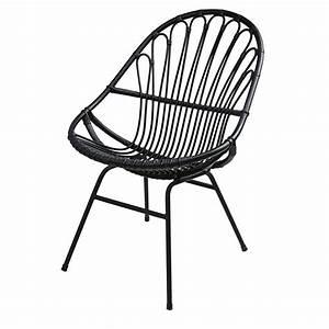 chaise rotin maison du monde fauteuil en rotin tresse With chaise maisons du monde