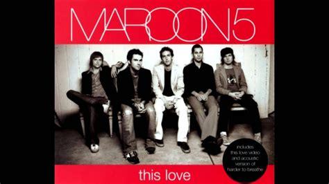 maroon 5 this love lyrics this love maroon 5 album cover www pixshark images