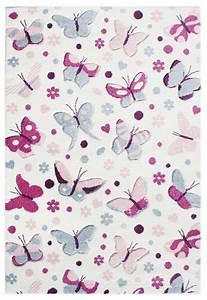 Teppich Kinderzimmer Rosa : teppich kinderzimmer 120x180 rosa schmetterlinge ~ A.2002-acura-tl-radio.info Haus und Dekorationen