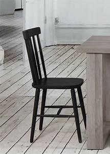 Chaises Scandinaves Noires : chaise barreaux scandinave brin d 39 ouest ~ Teatrodelosmanantiales.com Idées de Décoration