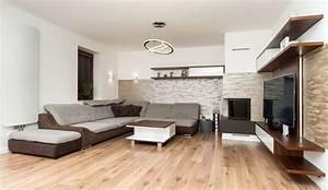 Intenzita osvětlení obývací pokoj