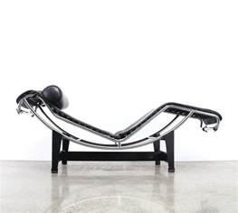 lc4 chaise longue lounge chair from the eighties by le