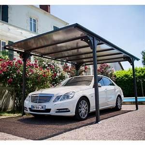 Car Port Alu : carport aluminium toit polycarbonate 14 70 m habrita 263 ~ Melissatoandfro.com Idées de Décoration