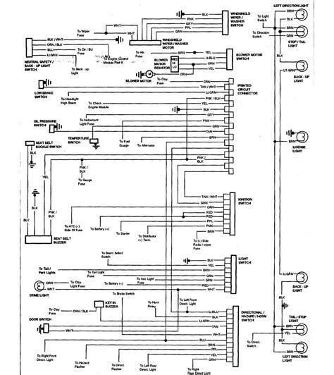 1965 Chevy El Camino Wiring Diagram by Wiring Diagrams 59 60 64 88 El Camino Central Forum