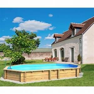 Achat Piscine Hors Sol : weva piscine bois octogonale 6 40 x 1 20 m achat ~ Dailycaller-alerts.com Idées de Décoration