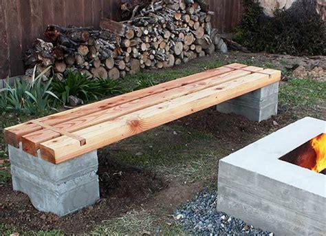 diy bench diy wood projects  easy backyard ideas