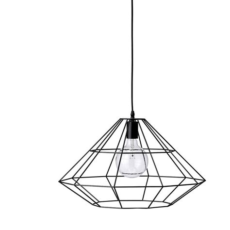 Wire Frame Hanging Lamp Out There Interiors