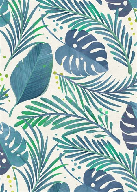 Backgrounds Trendy by Tropical Floral Patterns I Did A While Ago Following The