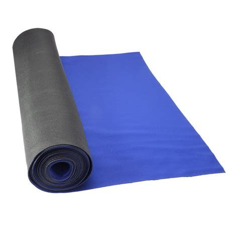 "27"" x 180' Neoprene Floor Runner   Blue"