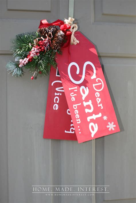 nice christmas decorations 20 diy christmas wall decor ideas the diy village