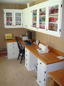craft room cabinets by christopherw lumberjockscom With kitchen cabinets lowes with craft room wall art